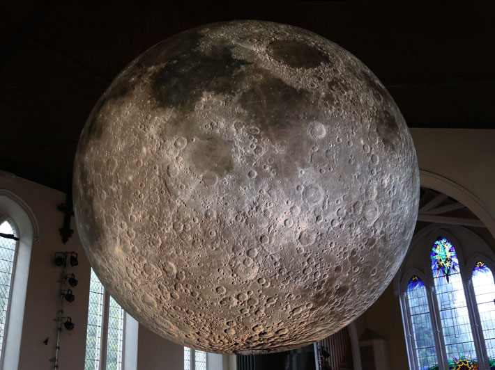 Museum of the Moon at Lakes Alive, UK. 2016.