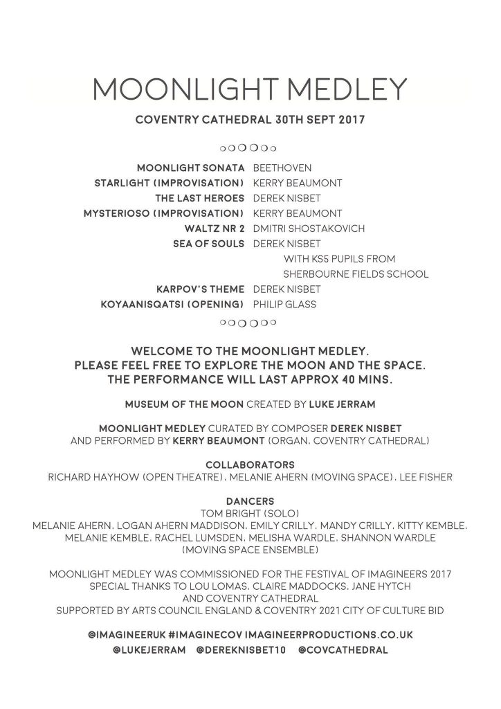 events in cathedral